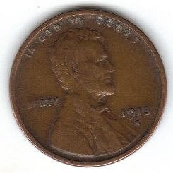 1913 S Lincoln Wheat Penny VF40 Or Better