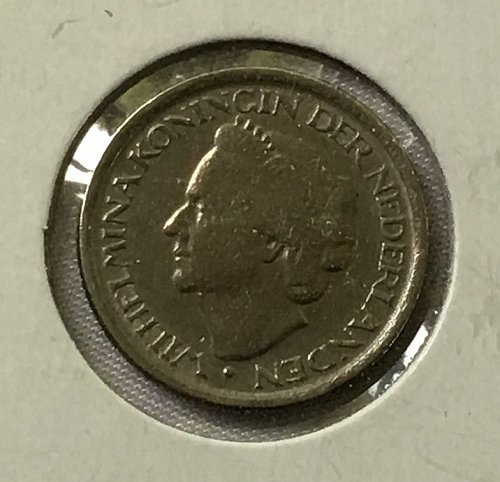 1948 Netherlands 25 Cents