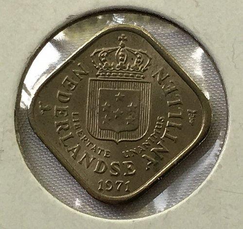 1971 Netherlands Antilles 5 Cents