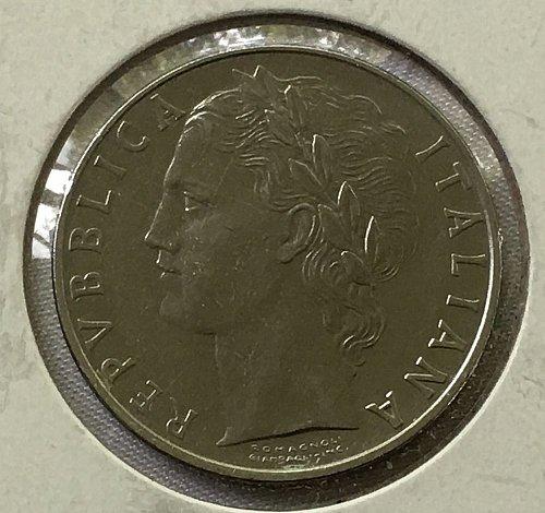 1968 Italy 100 Lire
