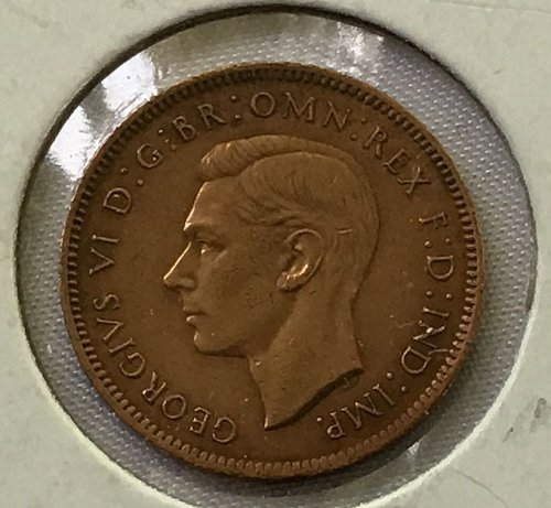 1946 Great Britain Farthing