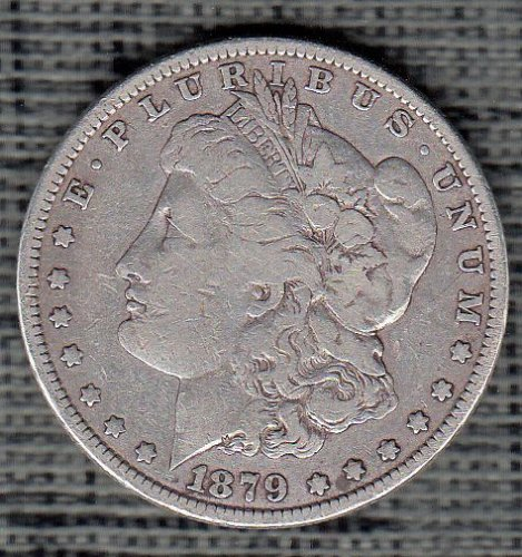 Morgan Dollar  : 1879