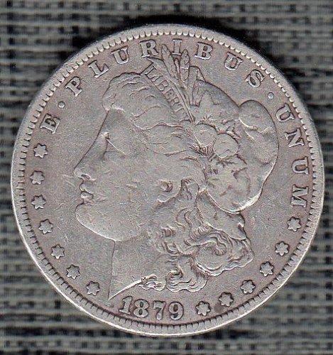 Morgan Dollar  : 1879