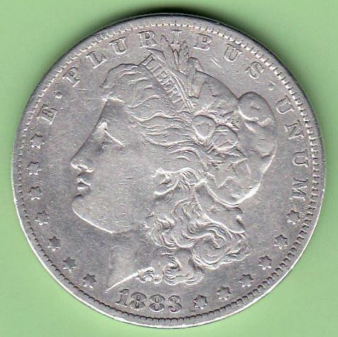 1883  Morgan  /  GJ-1