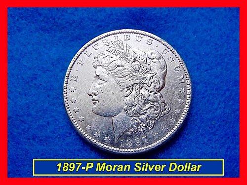 "1897-P Morgan Dollar ☆ ☆ ☆  ""Circulated"" ☆ ☆ ☆  (#5301)•"