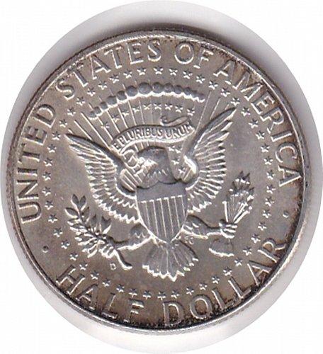 1964-D Kennedt Half Dollar 50c (n122)