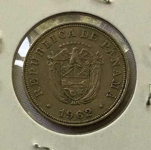 1962 Panama 5 Centesimos