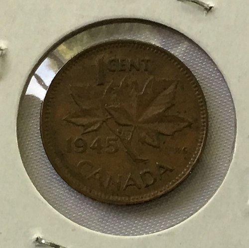 1945 Canada Cent