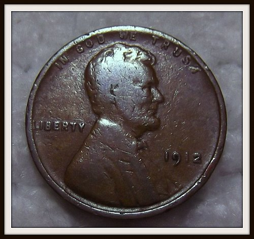 1912 1C Lincoln Wheat Cent (VG+)