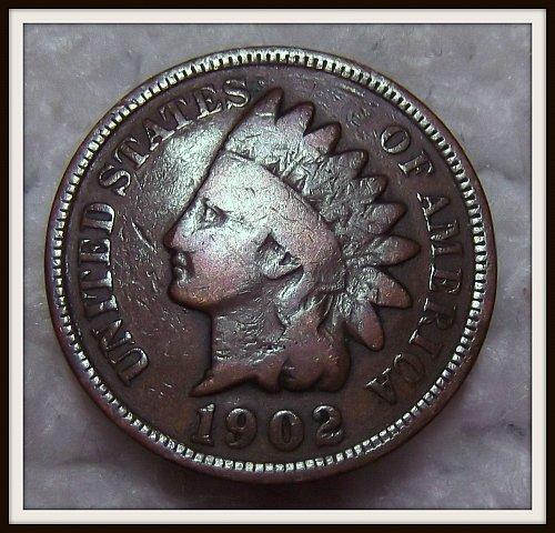 1902 1C Indian Head Cent