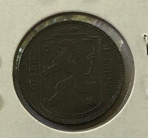 1945 Belgium Franc