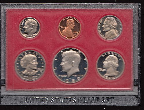 U.S. 1980 Proof Set   /  WM-3