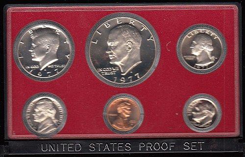 U.S. 1977 Proof Set   /  WM-4