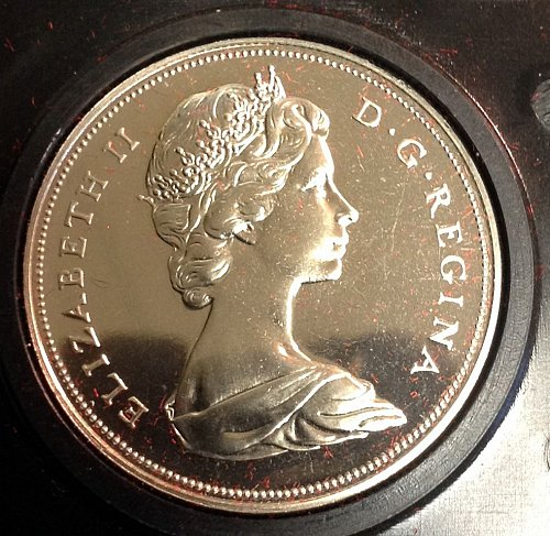 Canadian:  1970  Manitoba Centennial Comm. Dollar  /  WM-5