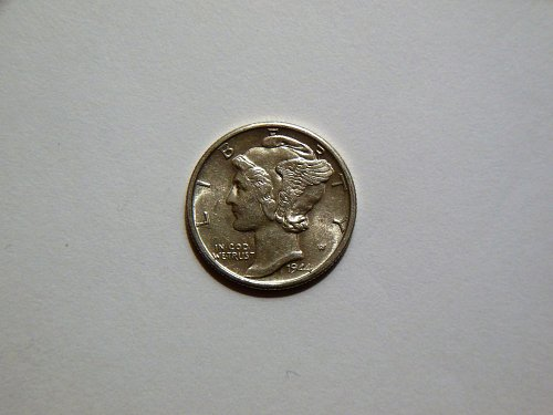 1944-S Silver Mercury Dime