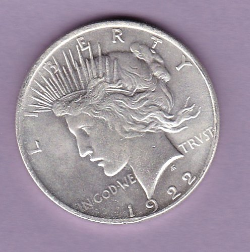 Two Headed Peace Dollar 1922