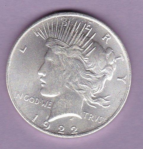 Two Headed Peace Dollar 1922