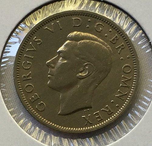 1951 Great Britain 1/2 Crown
