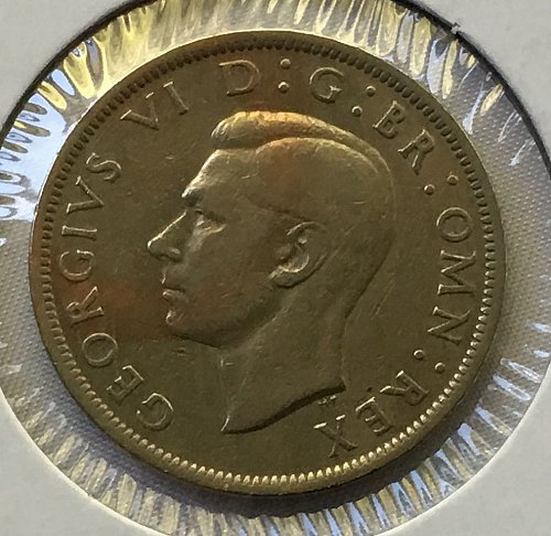 1948 Great Britain 1/2 Crown