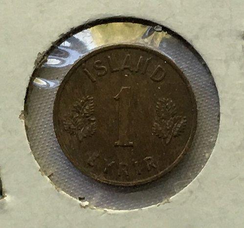 1953 Iceland 1 Eyrir