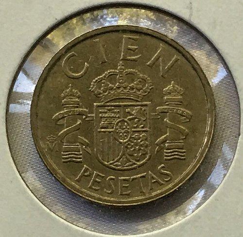 1984 Spain 100 Pesetas