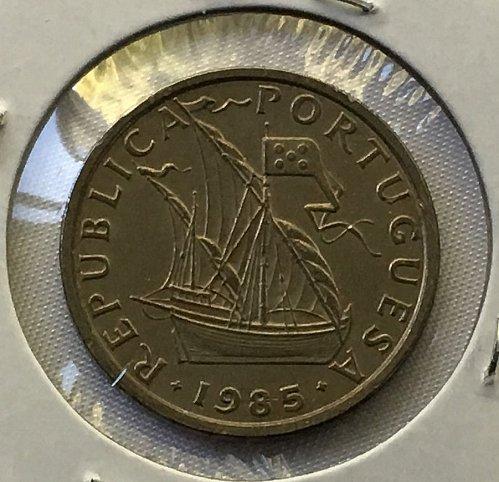 1985 Portugal 5 Escudos