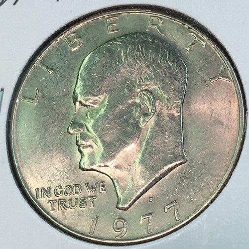 1977-D Eisenhower Dollar (40142)