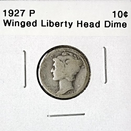 1927 P Winged Liberty Head Dime