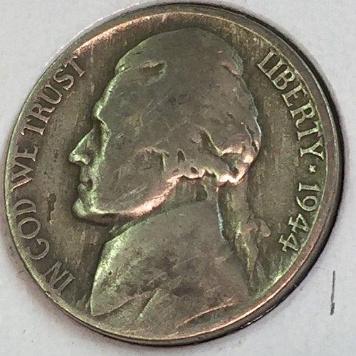 1944-D Jefferson Wartime Nickel (41728)