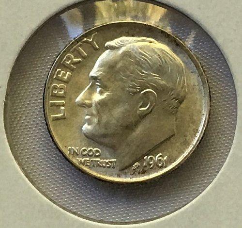 1961 P Roosevelt Dime