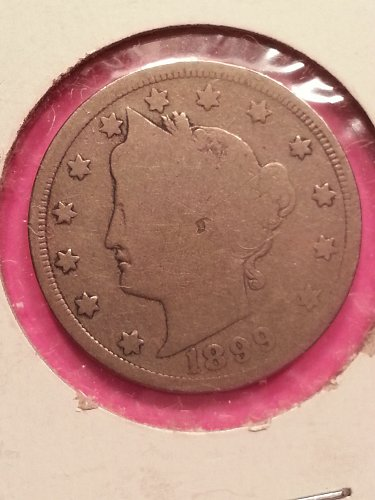 1899 Liberty Nickel