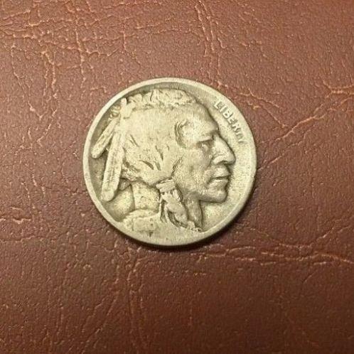 1916 D buffalo nickel