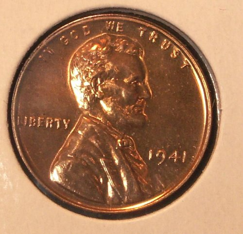 1941 Lincoln Cent Proof Stock # GL41pr