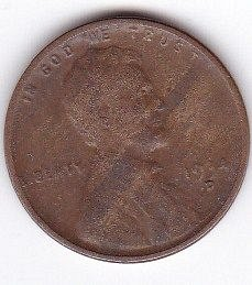 1934 D..ONE CENT FINE COIN