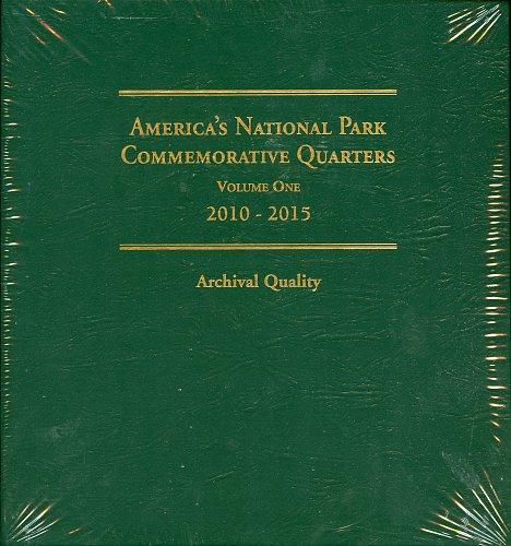 Littleton 2010-2015 PDSS America's National Park Quarter Series Album V#1 LCA74