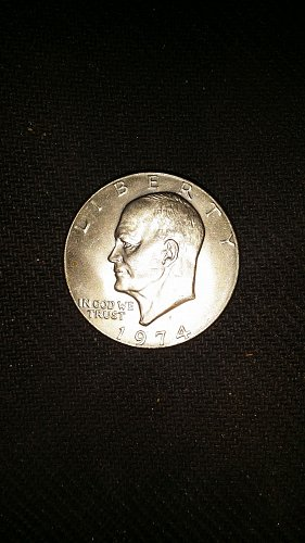1974 eisenhower dollar coin