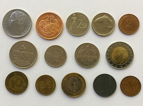 Foreign/World Coins Set #1 - 14 Coins