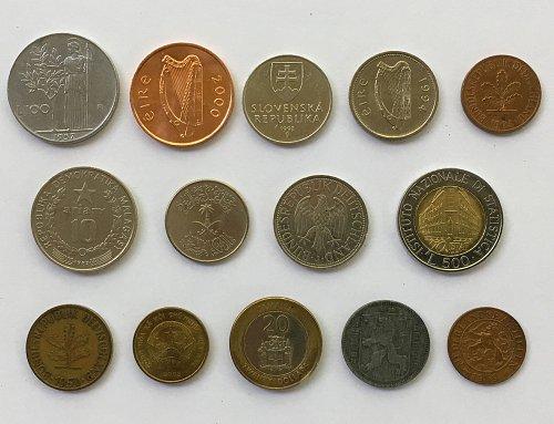 Foreign/World Coins Set #1 - 14 Coins
