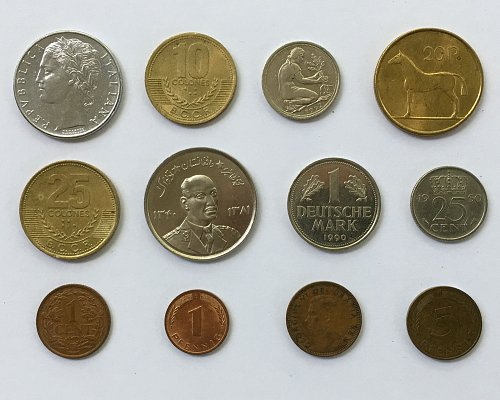Foreign/World Coins Set #2 - 12 Coins