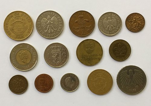 Foreign/World Coins Set #4 - 14 Coins