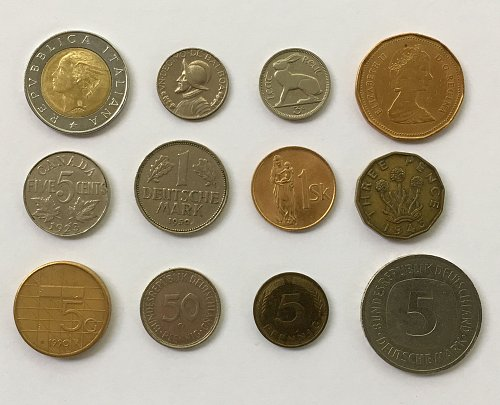 Foreign/World Coins Set #5 - 12 Coins