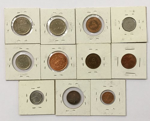 Foreign/World Coins Set #8 - 11 Coins