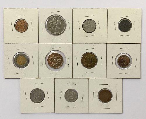 Foreign/World Coins Set #9 - 11 Coins