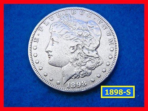 1898-S  Morgan Silver Dollar ☆ ☆ CIRCULATED  ☆ ☆(#5364)