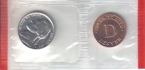 1987 P  JEFFERSON NICKEL with PHILLY TOKEN