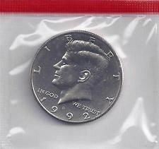 1992 D  KENNEDY HALF DOLLAR