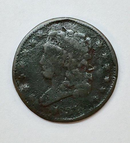 1834 Half Cent Classic Head