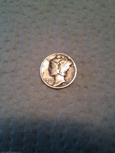 ONE 1941-P MERCURY DIME UNGRADED LOW SHIPPING