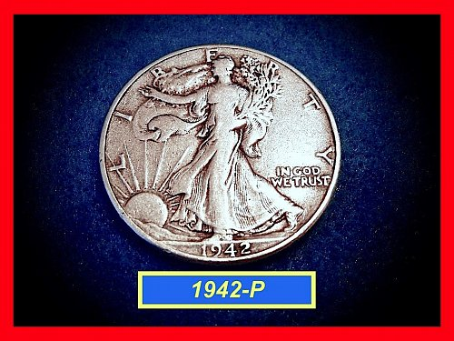 "1942-P   Walking Liberty Half  – ""Circulated""   (#1618)"