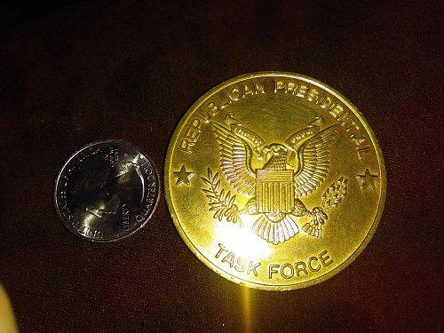 Presidential memoribilia- Ronald Reagan's Medal of Merit